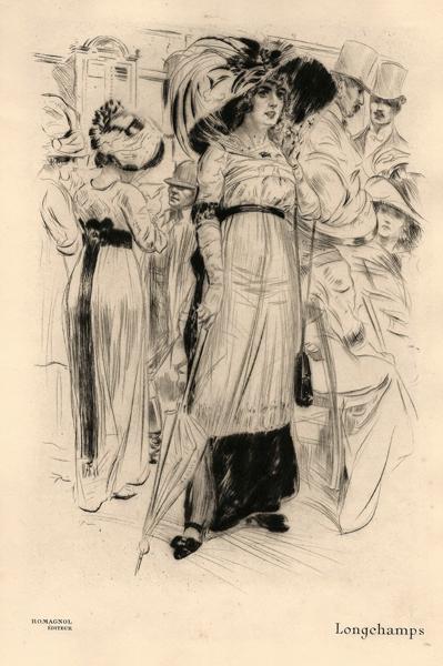 Almery LOBEL-RICHE (Francia, 1877 – 1950) – LONGCHAMPS