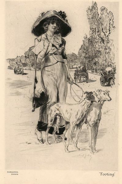 Almery LOBEL-RICHE (Francia, 1877 – 1950) – FOOTING