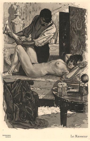 Almery LOBEL-RICHE (Francia, 1877 – 1950) – LE MASSEUR