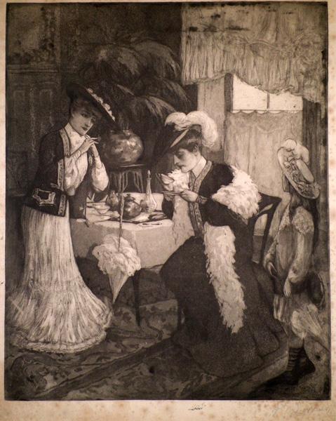 Réné LORRAIN (Francia, 1873 – ?) – IL CAFFE'