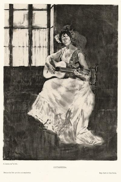 Alexandre LUNOIS(Francia, 1863 – 1916) – GUITARRERA