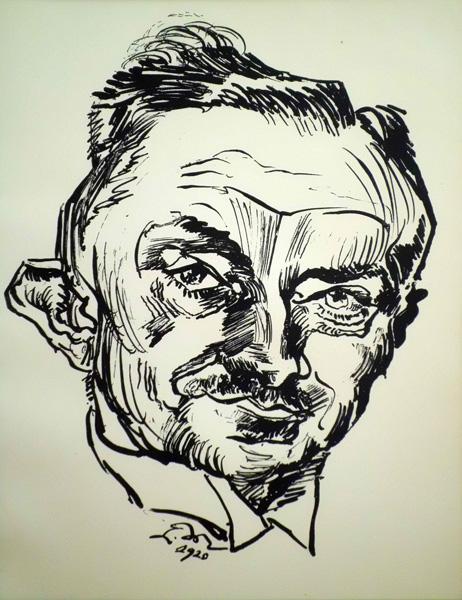 Ludwig MEIDNER (Slesia, 1884 – 1966) – BILDNIS