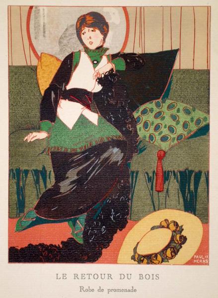 Paul MERAS (Francia, XIX secolo) – LE RETOUR DU BOIS