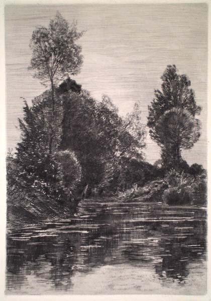 Carl Theodor MEYER-BASEL (Svizzera, 1860 – 1932) – PAESAGGIO
