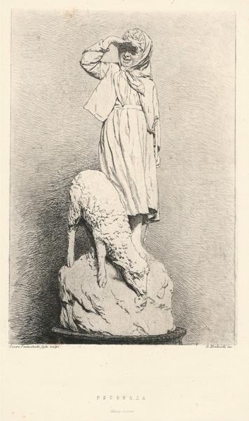 Giuseppe MONTICELLI (Rivara, 1841 – 1879) – PECORAJA