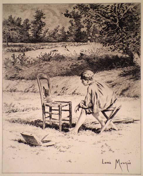 Louis MONZIES (Francia, 1849 – 1930) – AMATEUR