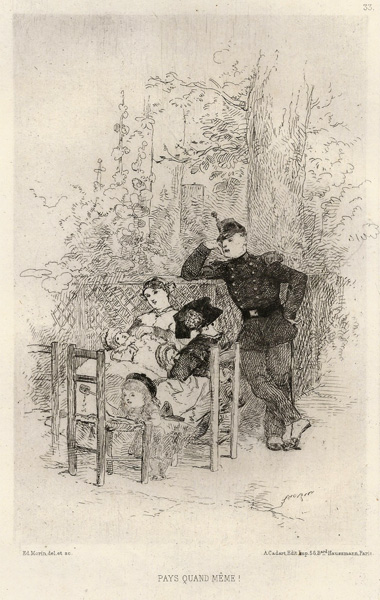 Edmond MORIN (Francia, 1824 – 1882) – PAYS QUAND MEME