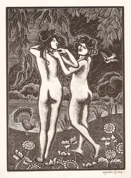 Jean-Alexis MORIN (Francia, 1877 – 1940) – LE PRINTEMPS