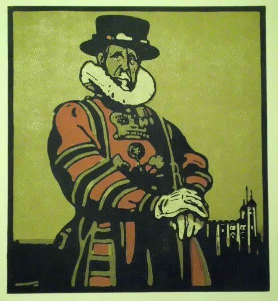 William NICHOLSON (Gran Bretagna, 1872 – 1949) – BEEFEATER