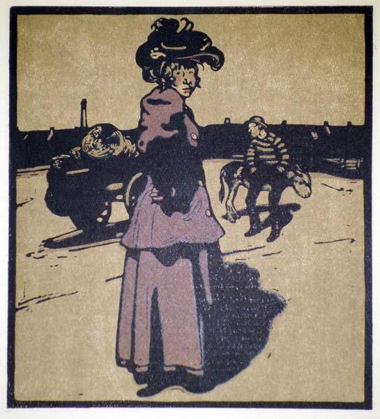 William NICHOLSON (Gran Bretagna, 1872 – 1949) – COSTERMONGER