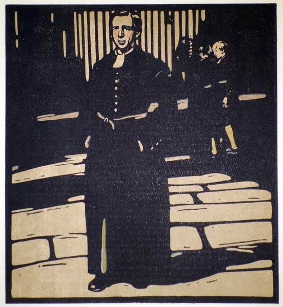 William NICHOLSON (Gran Bretagna, 1872 – 1949) – BLUECOAT BOY