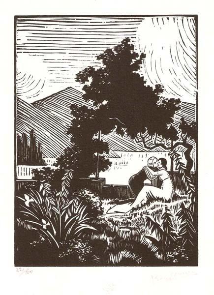 Pierre NOURY (Francia, 1894 – ?) – IDYLLE