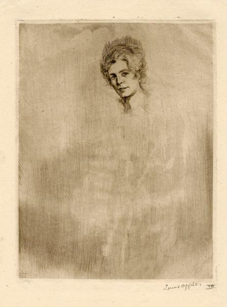 Ernst OPPLER (Germania, 1867 – 1929) – SYBILL