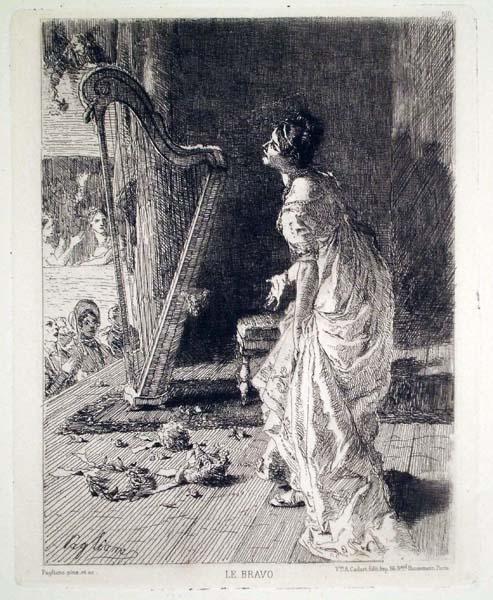 Eleuterio PAGLIANO (Casale Monferrato, 1826 – 1903) – LE BRAVO (dopo il 1879)