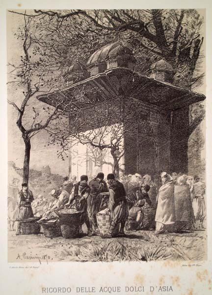 Alberto PASINI (Busseto, 1826 – Cavoretto, 1899) – RICORDO DELLE ACQUE DOLCI D'ASIA