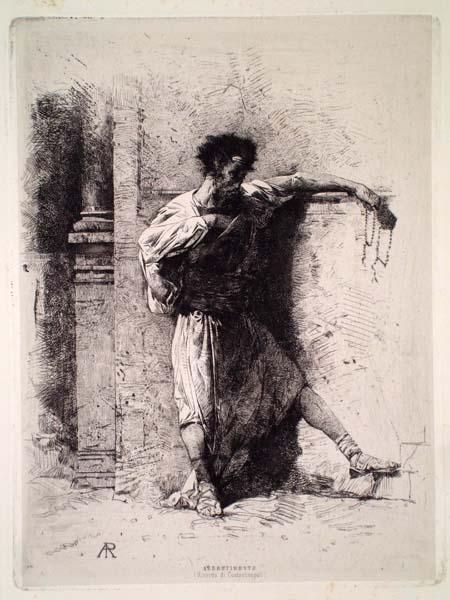 Alberto PASINI (Busseto, 1826 – Cavoretto, 1899) – ABBRUTIMENTO