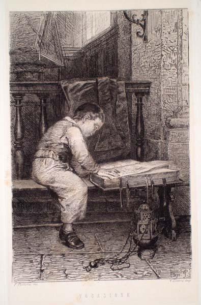 Federico PASTORIS (Asti, 1837 – 1884) – VOCAZIONE
