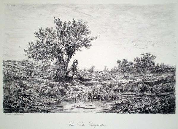 Edoardo PEROTTI (Torino, 1824 – 1870) – LA VITA CAMPESTRE