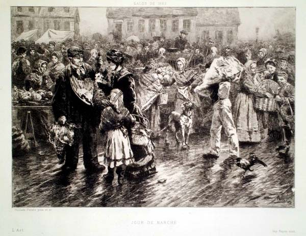 William PETERS (Gran Bretagna, XIX secolo) – JOUR DE MARCHE