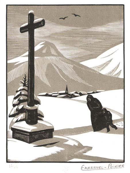 Emmanuel POIRIER (Francia, 1898 – ?) – LE CALVAIRE