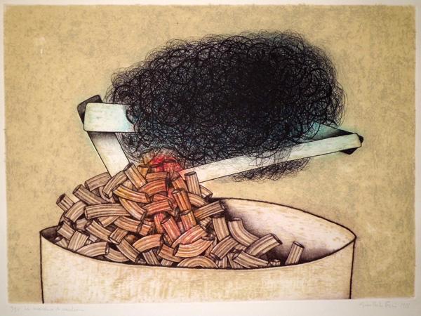 Giancarlo POZZI (Castellana, 1938) – LA MARCHESA DE MACCHERANO (1973)