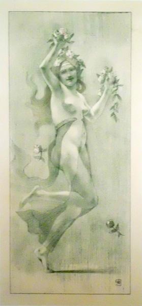 André Louis Armand RASSENFOSSE (Belgio, 1862 – 1934) – DANSE
