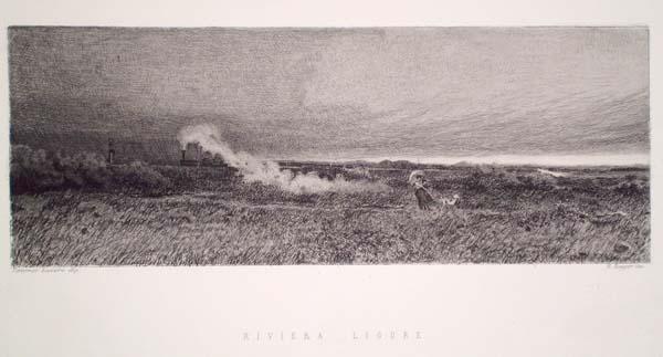 Ernesto RAYPER (Genova, 1840 – 1873) – RIVIERA LIGURE