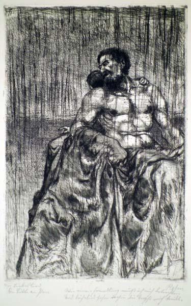 Walter Richard REHN (Germania, 1884 – 1951) – UOMO SEDUTO