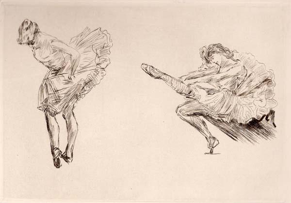 Charles Paul RENOUARD (Francia, 1845 – 1924) – DANSEUSES