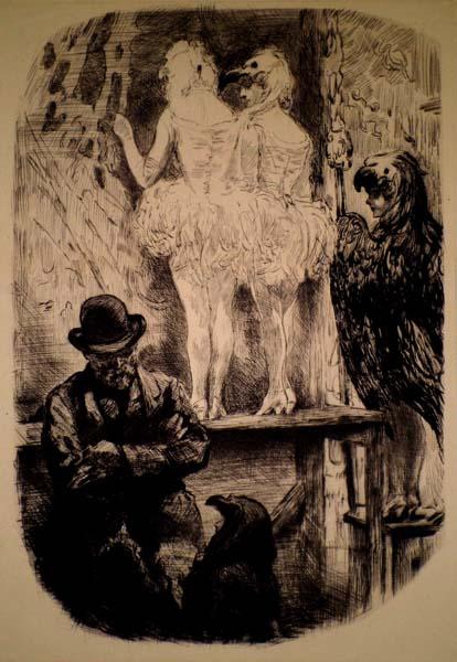 Charles Paul RENOUARD (Francia, 1845 – 1924) – DIETRO LE QUINTE