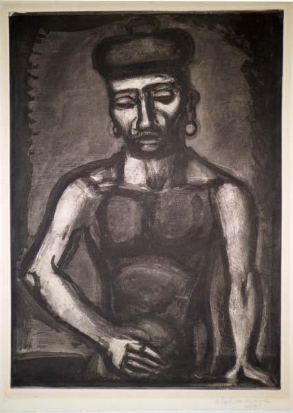 Georges ROUAULT (Francia, 1871 – 1958) – JEAN-FRANCOIS JAMAIS NE CHANTE ALLELUIA… (1923)