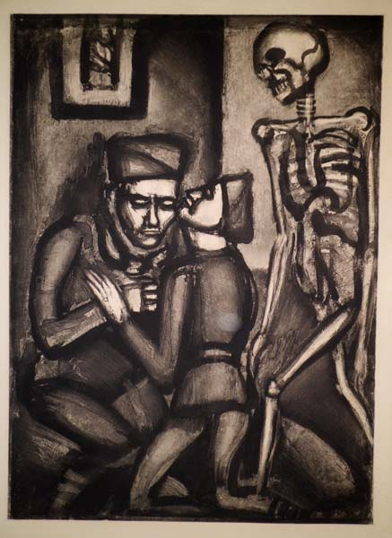 Georges ROUAULT (Francia, 1871 – 1958) – CE SERA LA DERNIER, PETIT PERE (1927)