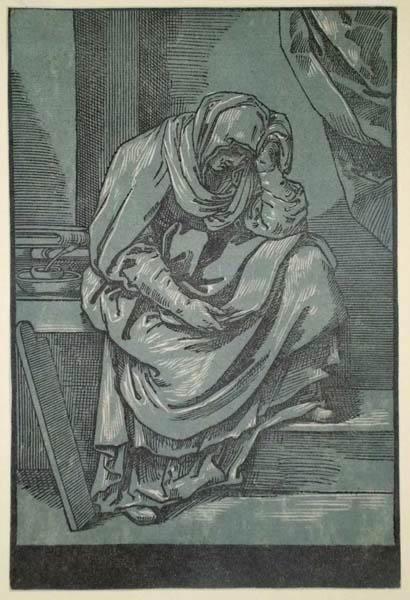 Bartolomeo CORIOLANO (Bologna, circa 1599 – circa 1676) – SYBILLA da Reni (1635 circa)