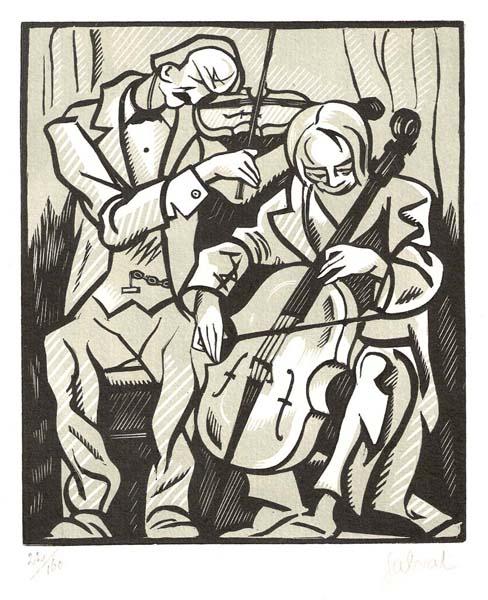 Francois Martin SALVAT (Francia, 1892 – 1974) – DUO