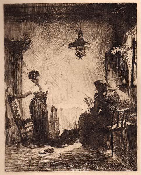 Ferdinand SCHMUTZER (Austria, 1870 – 1928) – ENTDECKTES GEHEIMNIS