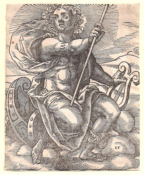 Jost AMMAN (Svizzera, 1539 – 1591) – APOLLO