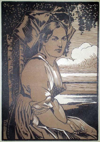 Charles SPINCHLER (attivo in Francia inizi XX secolo) – ALSACIENNE