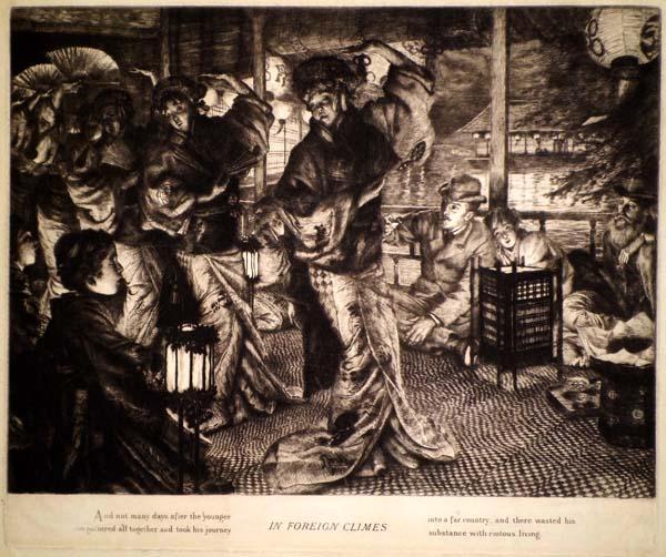 James Jacques Joseph TISSOT (Francia, 1836 – 1902) – EN PAYS ETRANGER