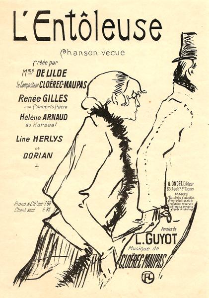 PAUVRE PIERREUSE! (1893) (1864) – de TOULOUSE-LAUTREC Henri