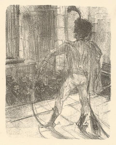 SCHLOME' FUSS A LA SYNAGOGUE (1864) – de TOULOUSE-LAUTREC Henri