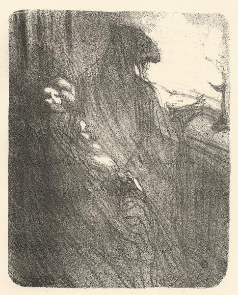 LA PRIERE DES JUIFS POLONAIS (1864) – de TOULOUSE-LAUTREC Henri
