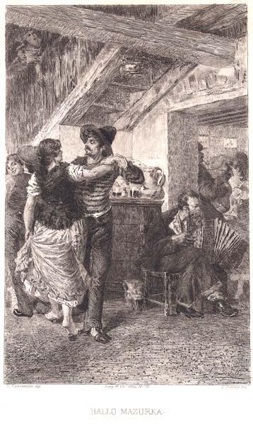 Celestino TURLETTI (Torino, 1845 – 1904) – BALLO MAZURKA da E. Lancerotto