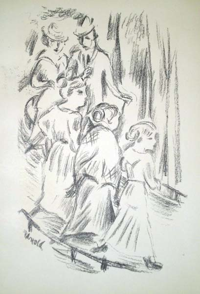 Max UNOLD (Germania, 1885 – 1964) – DIE STRASSE