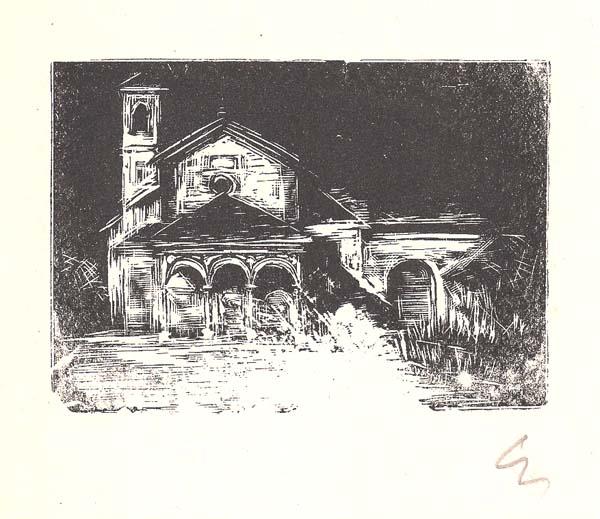 Enrico VEGETTI (Torino, 1863 – 1951) – CHIESA