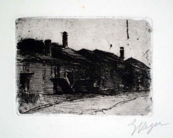 Enrico VEGETTI (Torino, 1863 – 1951) – UNA STRADA