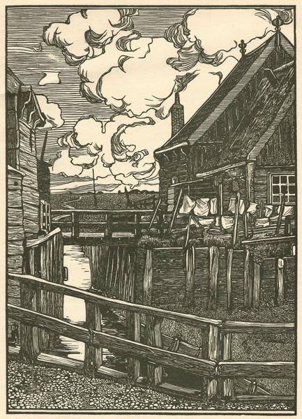 Jacob Gerard VELDHEER (Olanda, 1866 – 1954) – OP MACKEN (1899)
