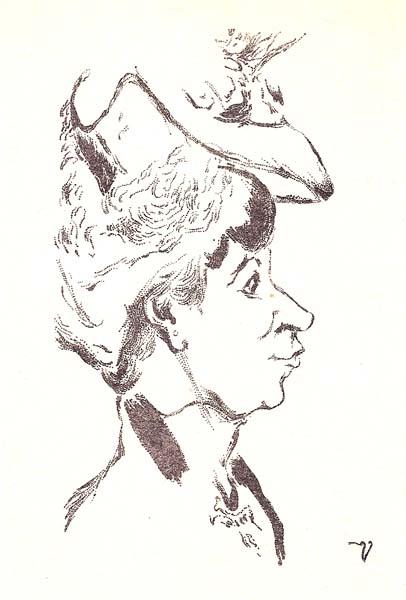 John Jack VRIESLANDER (Germania, 1879 – 1957) – CARICATURA