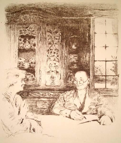 Edouard VUILLARD (Francia, 1868 – 1940) – LE MENU