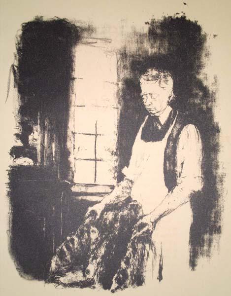 Edouard VUILLARD (Francia, 1868 – 1940) – LE MAITRE D'HOTEL