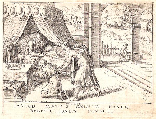Etienne DELAUNE (Francia, circa 1518 – circa 1595) – IAACOB MATRIS CONSILIO…
